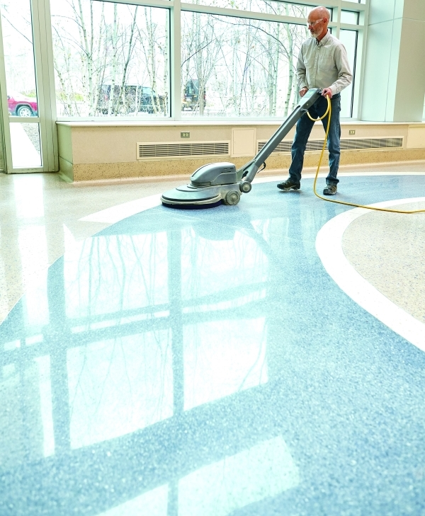 City Hall Restores Protects And Maintains Original Flooring
